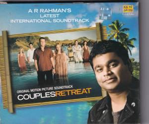 Couples Retreat International Audio CD by A.R. Rahman - www.mossymart.com