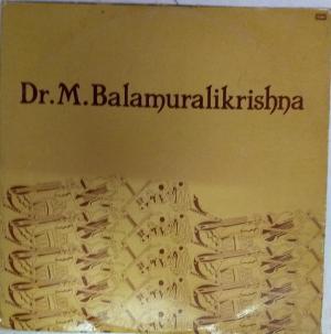 Carnatic Songs LP Vinyl Record by Dr M Balamuralikrishna www.mossymart.com