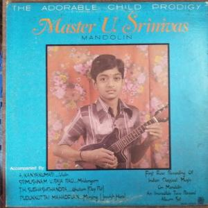 Mandolin Muscic Instrument LP Vinyl Record by Master U Sriivas www.mossymart.com