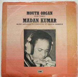 Mouth Organ EP Vinyl Record by Madan Kumar www.mossymart.com