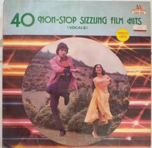 40 Non Stop Sizzung Film Hits Hindi LP Vinyl Record www.mossymart.com