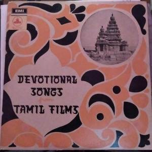 Devotional Songs from Tamil Films LP Vinyl Record www.mossymart.com