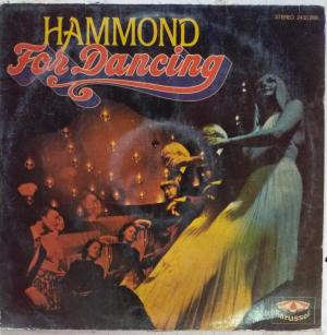 Hammond For Dancing LP Vinyl Record www.mossymart.com