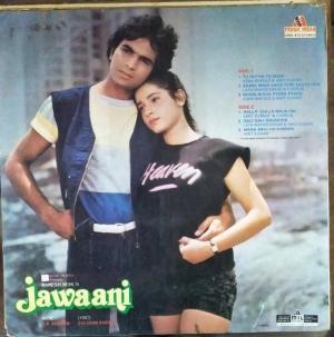 Jawaani Hindi Film LP Vinyl Record www.mossymart.com