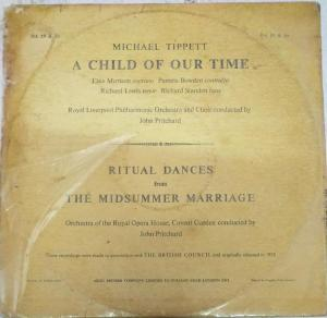 Michael Tippet a Child of our Time LP Vinyl Record www.mossymart.com