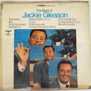 The Best of Jackie Gleason LP vinyl Record www.mossymart.com