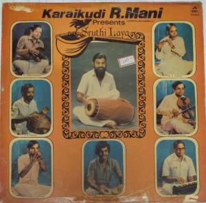 Karaikudi R Mani Presents Sruthi Laya Carnatic Instruments LP Vinyl Record www.mossymart.com