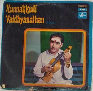 Kunnakkudi Vaidhyanathan Violin LP Vinyl Record www.mossymart.com