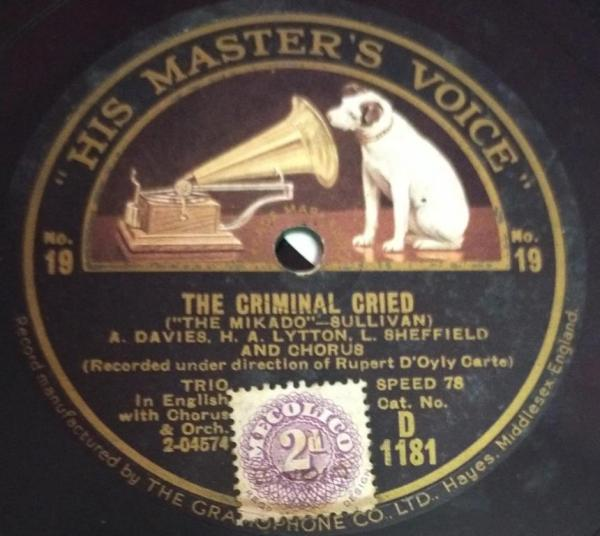 See How the Fates and The Flowers that Bloom in the Spring 78 RPM Record D 1181 www.mossymart.com
