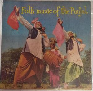 Folk Music of the Punjab LP Vinyl Record www.mossymart.com