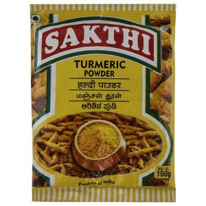Sakthi Turmeric Powder 100 g packet