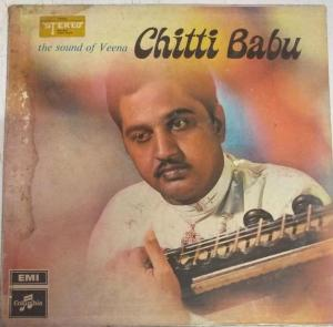 The Sound of Veena Chitti Babu LP Vinyl Record www.mossymart.com