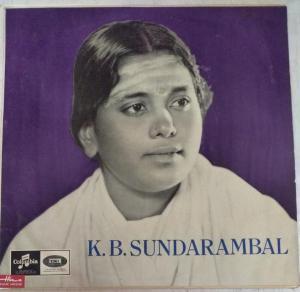 Hindu Devotional songs Tamil LP Vinyl Record by K B Sundarambal www.mossymat.com