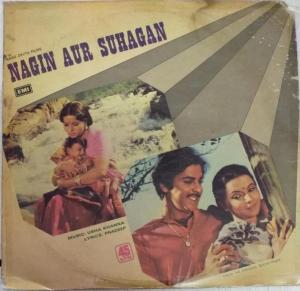 Nagin Aur Suhagan Hindi Film LP Vinyl Record by Usha Kanna www.mossymart.com
