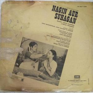 Nagin Aur Suhagan Hindi Film LP Vinyl Record by Usha Kanna www.mossymart.com 1