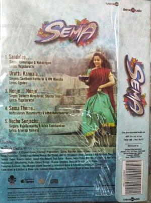 Sema Tamil FIlm Audio CD by G V Prakash Kuma www.mossymart.com 2