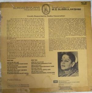 Surdas Bhajans Hindi Devotional by M S Subbulakshmi www.mossymart.com