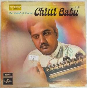 The Sound of Veena Lp Vinyl Record by Chitti Babu www.mossymart.com