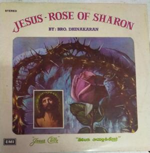 Jesun Rose of Sharon Christian Devotional LP Vinyl Record by Bro Dhinakaran www.mossymart.com