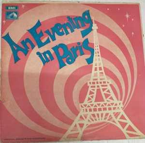 An Evening In Paris Hindi Film LP Vinyl Record by Shankar Jaikishan www.mossymart.com