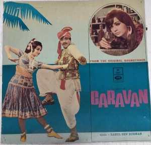 Caravan Hindi Film LP Vinyl Record by R D Burman www.mossymart.com