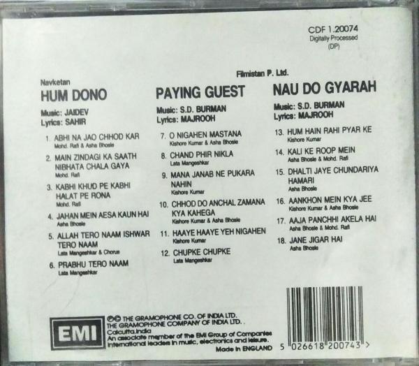 Hindi FIlm Hits Audio CD www.mossymart.com
