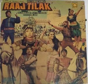 Raaj Tilak Hindi Film LP Vinyl Record by Kalyanji Anandji www.mossymart.com