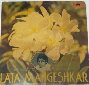 A voice for all Seasons Lata Mangeshkar Hindi Film Hits LP Vinyl Record www.mossymart.com