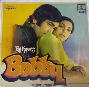 Bobby Hindi Film LP Vinyl Record by Laxmikant Pyarelal www.mossymart.com