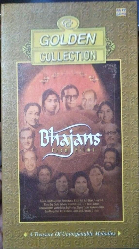 Golden Collection Bhajans from Hindi Films Audio CD www.mossymart.com