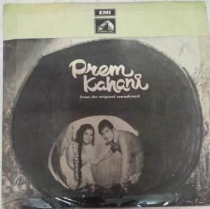 Prem Kahani Hindi Film EP VInyl Record by Laxmikant Pyarelal www.mossymart.com