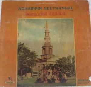 Azhaippin Geethangal Christian devotional Tamil LP Vinyl Record www.mossymart.com 1