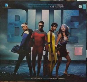 Blue - Hindi Audio CD by A.R. Rahman - www.mossymart.com