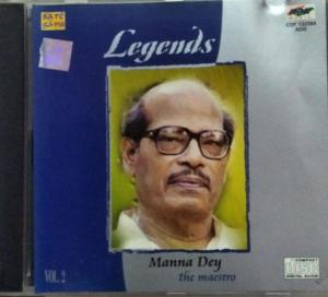 Legends Hindi Film hits Audio CD by Manna Day Vol 2 www.mossymart.com 2