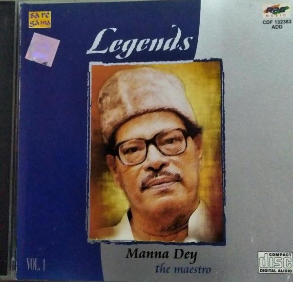 Legends Hindi Film hits Audio CD by Manna Day www.mossymart.com 1