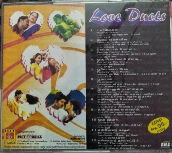 Love Duets Tamil Film hits Audio CD by Harris Jayaraj www.mossymart.com 1