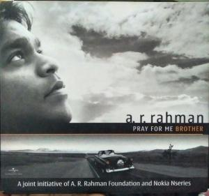 Pray for me Brother - English Audio CD by A.R. Rahman - www.mossymart.com