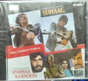 Suhaag - Andhaa Kaanoon Hindi Film Audio CD www.mossymart.com 1