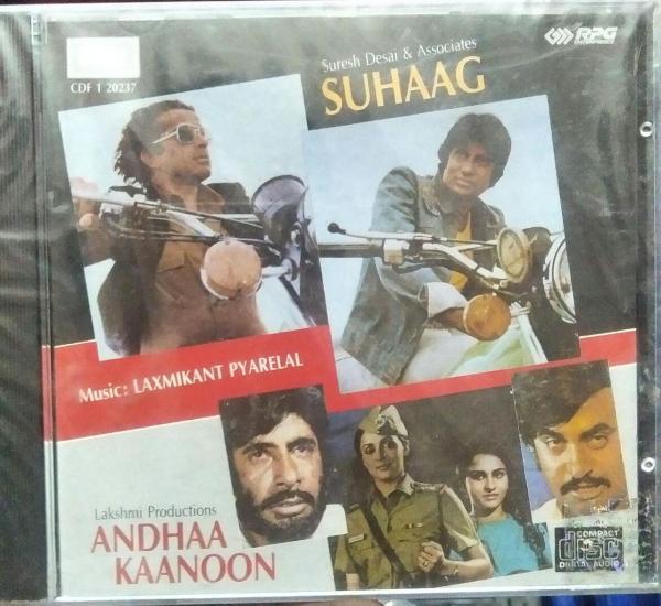 Suhaag - Andhaa Kaanoon Hindi Film Audio CD www.mossymart.com 1