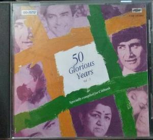 50 Glories Years Hindi FIlm Audio CD www.mossymart.com 1
