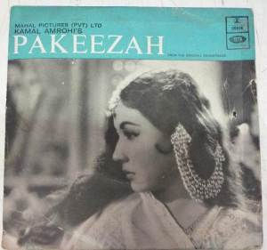 Pakeezah Hindil Film EP Vinyl Record by Ghulam Mohammed www.mossymart.com 2