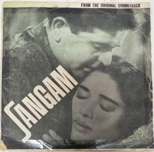 Sangam Hindi Film EP Vinyl Record by Shankar Jaikishan www.mossymart.com 2