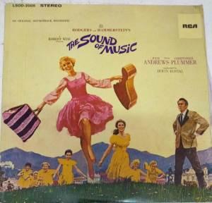The Sound of Music English LP Vinyl Record www.mossymart.com 1