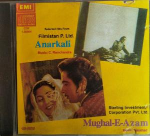 Anarkali - Mughal E Azam Hindi Film Audio CD www.mossymart.com 2