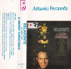 Belafonte English album Audio Cassette www.mossymart.com 1