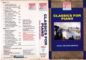 Clasics for Piano English Album ( western music) Audio Cassette www.mossymart.com 1