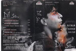 Dil Se Hindi Film Audio Cassette by A R Rahman www.mossymart.com 1