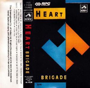 Heart Brigade English album Audio Cassette www.mossymart.com 1