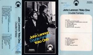 John Lennon -Yoko Ono English album Audio Cassette www.mossymart.com 1