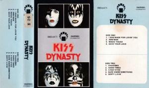Kiss Dynasty English album Audio Cassette www.mossymart.com 1
